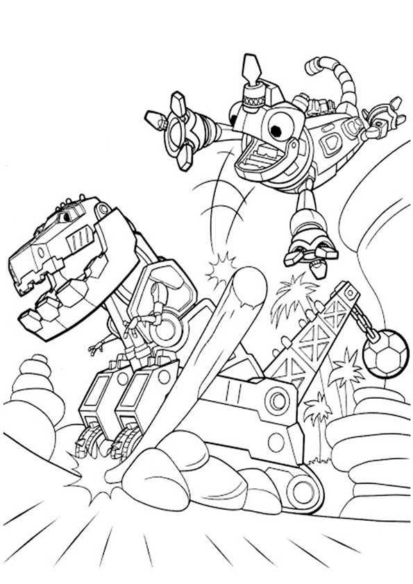 Dinotrux-17 Ausmalbilder Malvorlagen