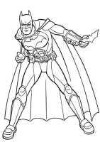 Batman 2   Ausmalbilder Malvorlagen