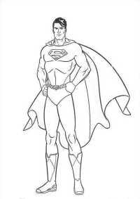 Ausmalbilder Zum Ausdrucken Superman Superman