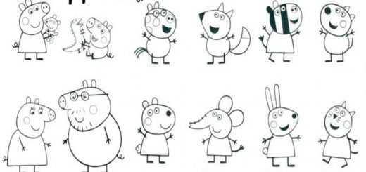 Ausmalbilder Peppa Pig-13 Ausmalbilder Malvorlagen