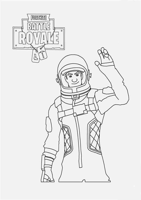 Fortnite-4 Ausmalbilder Malvorlagen