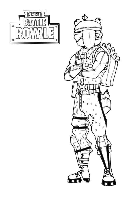 Fortnite-15 Ausmalbilder Malvorlagen