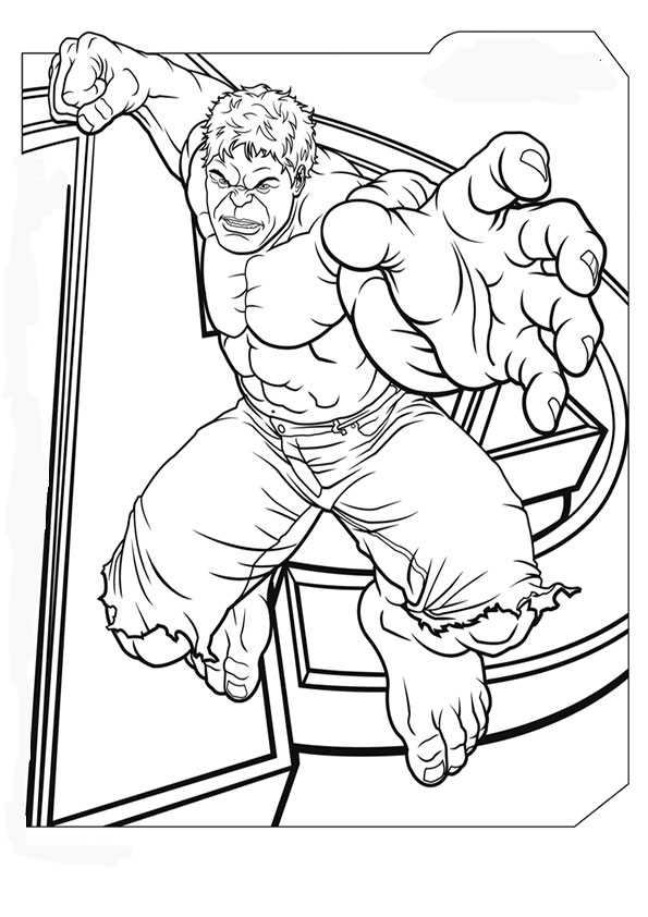 Marvel-9 Ausmalbilder Malvorlagen