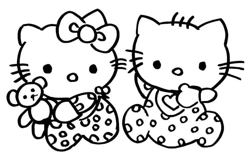 Hello Kitty 08 Ausmalbilder