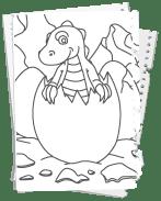Dinosaurier Kostenlose Malvorlagen