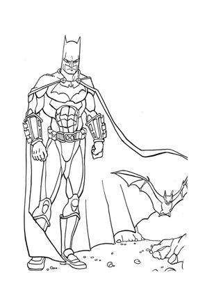 Ausmalbilder Batman 11 - Batman Malvorlagen