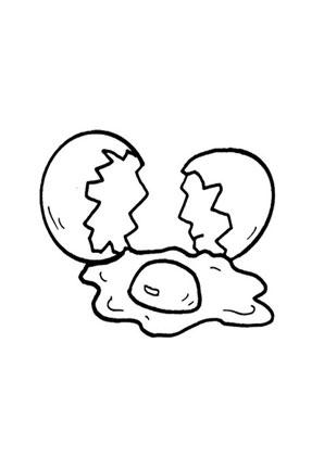 Malvorlage Ei