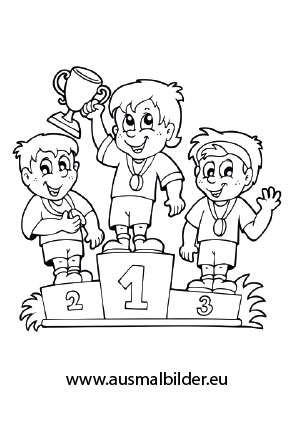 Golfer Coloring Pages