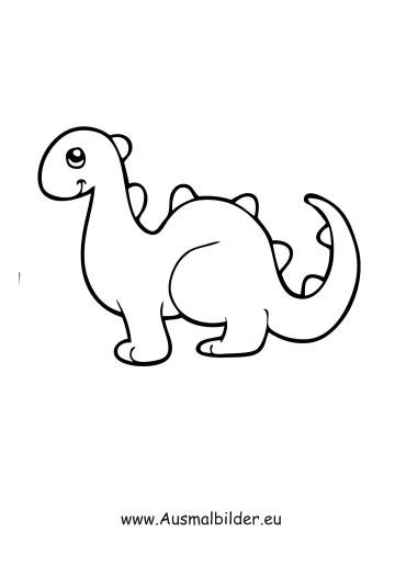 Ausmalbilder Dinosaurier Pdf