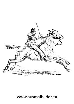 Ausmalbilder Reitender Soldat Pferde Malvorlagen