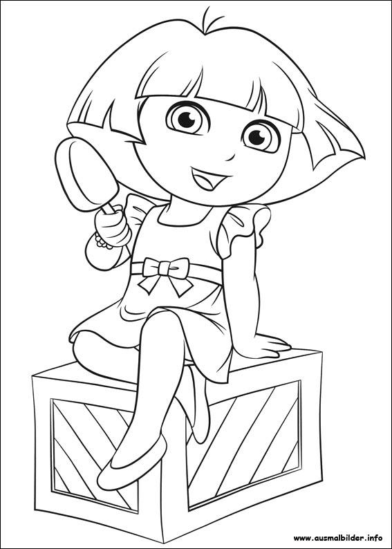 Dora malvorlagen
