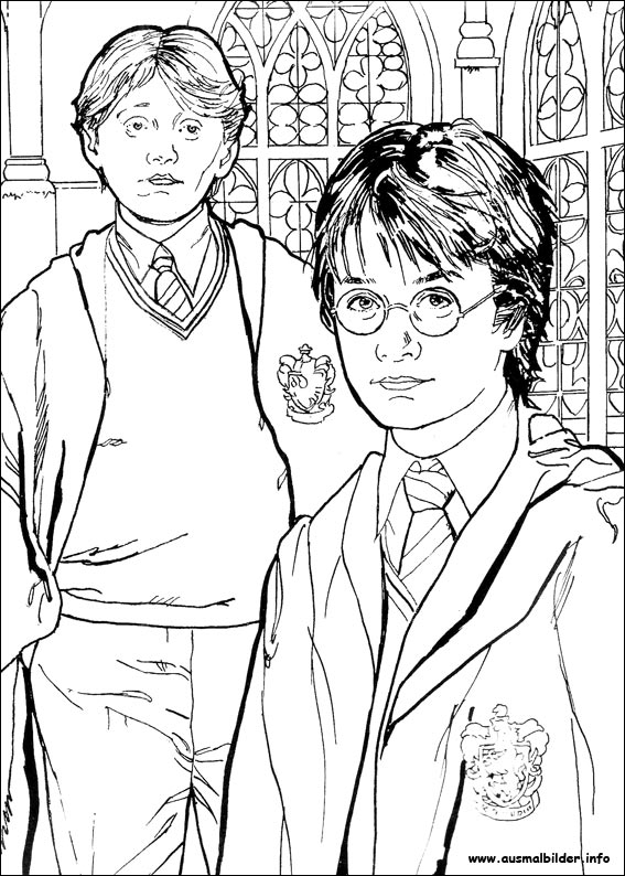 Harry Potter malvorlagen