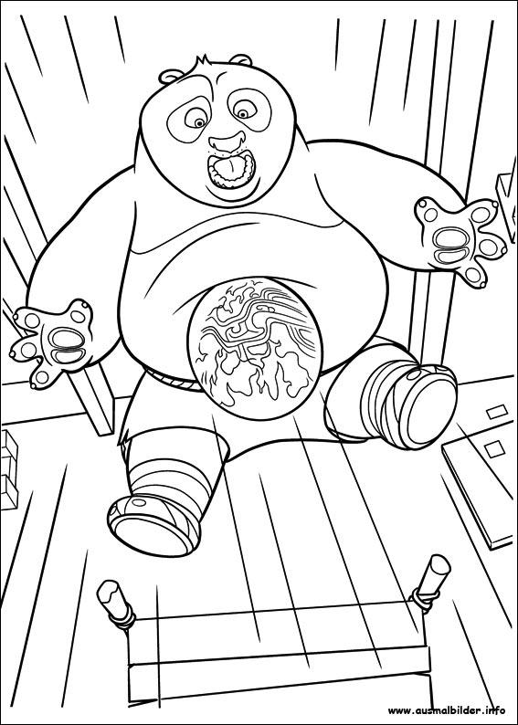 Kung Fu Panda 2 malvorlagen