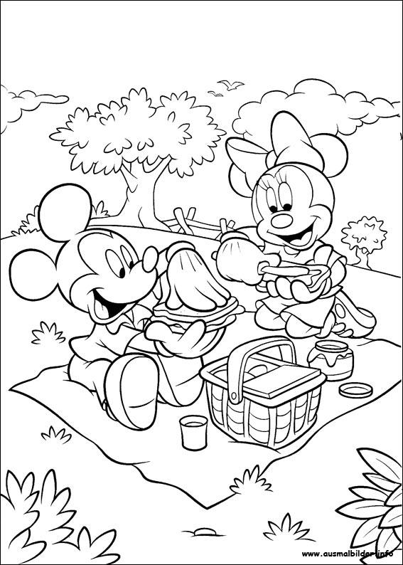 Micky Maus malvorlagen