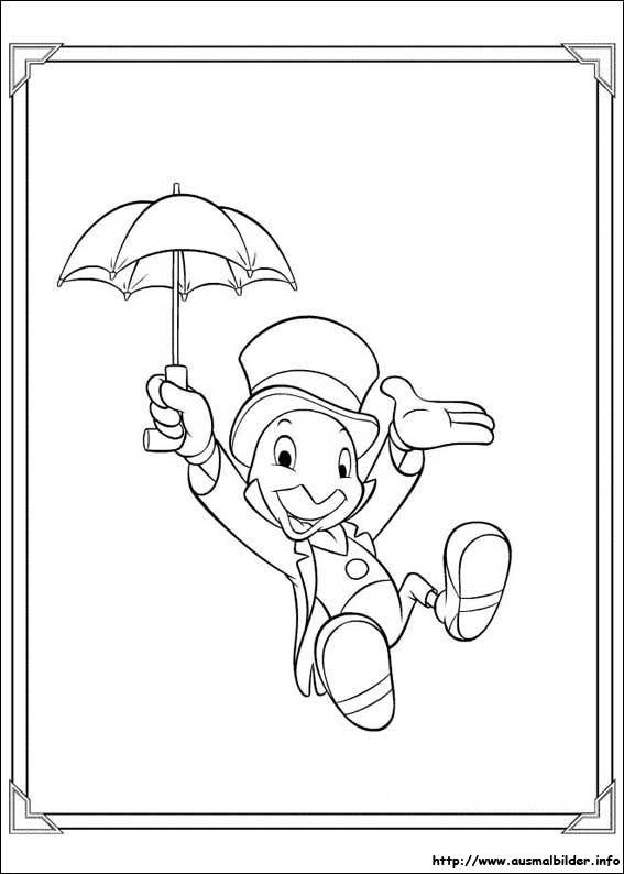 Pinocchio malvorlagen