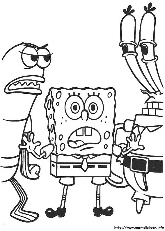 SpongeBob Schwammkopf malvorlagen