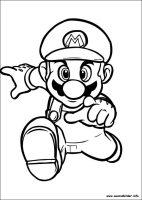 Super Mario Bros. malvorlagen
