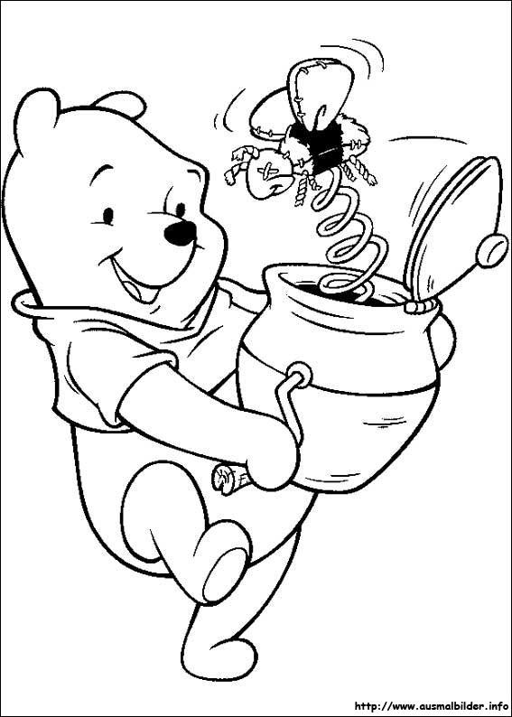 Winnie Puuh malvorlagen