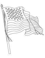 Amerikanische Flagge Ausmalbilder & Malvorlagen   100 ...