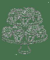 Cupcake & Muffin Ausmalbilder & Malvorlagen   100 KOSTENLOS
