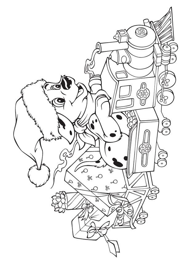 Disney Weihnachten Ausmalbilder & Malvorlagen - 100%
