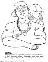 Hip Hop & Rap Ausmalbilder & Malvorlagen   100 KOSTENLOS