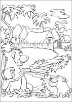Dschungel Ausmalbilder & Malvorlagen   100 KOSTENLOS