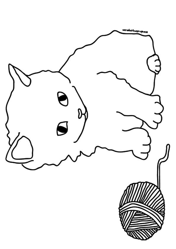Kätzchen Ausmalbilder & Malvorlagen - 100% KOSTENLOS