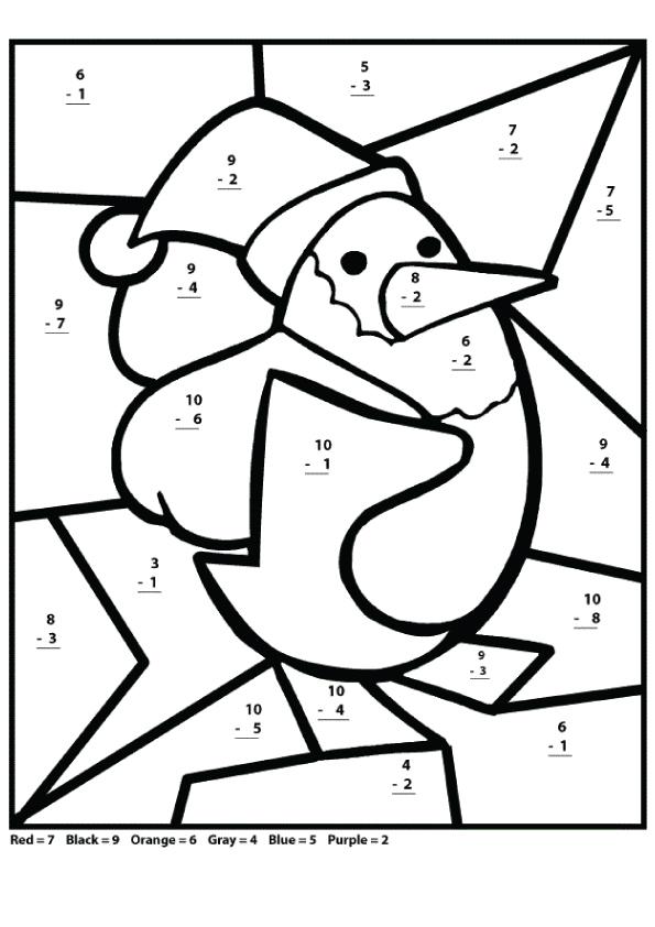 Malvorlagen Mathe