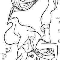 Meerjungfrau Ausmalbilder & Malvorlagen   100 KOSTENLOS