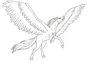 Pegasus Ausmalbilder & Malvorlagen   100 KOSTENLOS