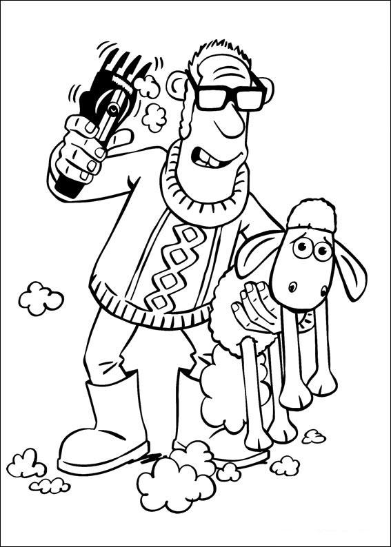 Shaun das Schaf Ausmalbilder & Malvorlagen - 100% KOSTENLOS