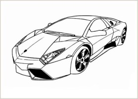 Gratis Malvorlagen Lamborghini   Coloring and Malvorlagan