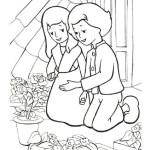Schneekönigin Ausmalbilder Malvorlagen kostenlos ausdrucken