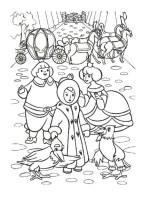 Ausmalbilder für Kinder Schneekonigin 6