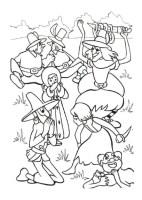 Ausmalbilder für Kinder Schneekonigin 8