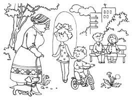 Ausmalbilder für Kinder Sommer 20