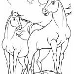 Spirit - Der wilde Mustang Ausmalbilder Malvorlagen