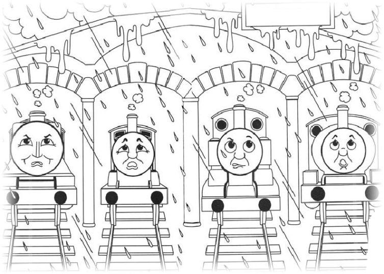 Malvorlage Thomas Lokomotive Malvorlagencr