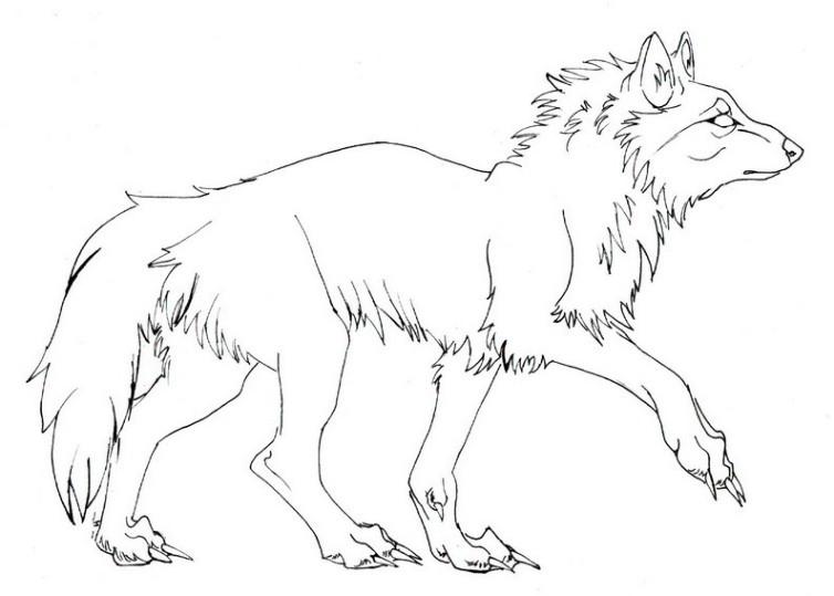 Wolf Zum Ausmalen Und Ausdrucken