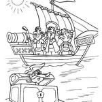 Piratenschiff Ausmalbilder Malvorlagen kostenlos ausdrucken