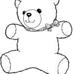 Teddybär Ausmalbilder Malvorlagen kostenlos ausdrucken