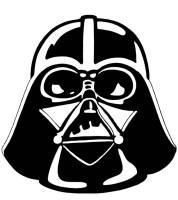 Ausmalbilder Karneval, bild Darth Vader Maske
