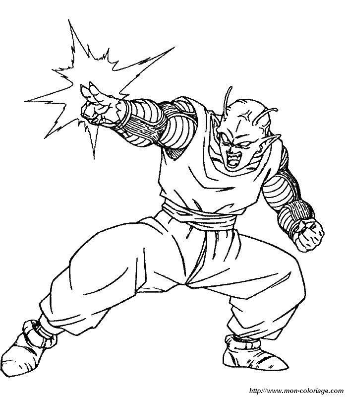 Ausmalbilder Dragon Ball Z, bild dragon ball z ausmalen
