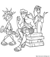 Ausmalbilder Hercules, bild malvorlagen hercules