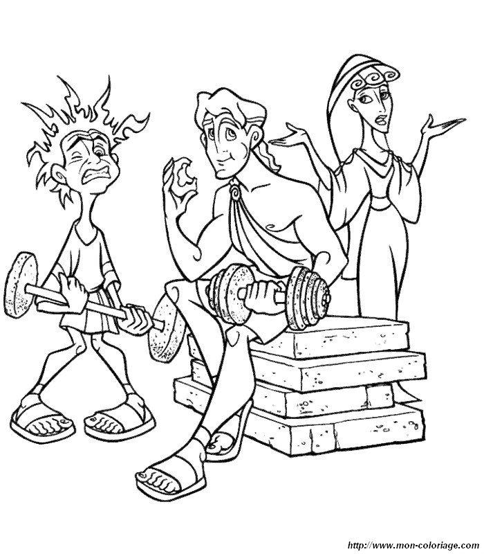 Malvorlagen Hercules