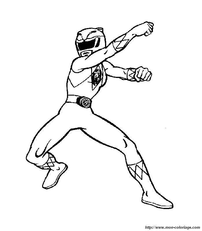 Ausmalbilder Power Rangers, bild 001