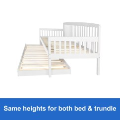 Sofa Bed Timber Slats Repair North London New Wooden Frame White Trundle Daybed Teenager