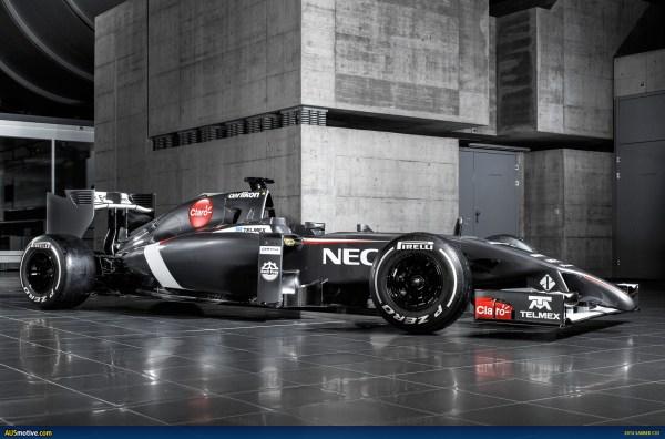 2014 Sauber C33 Revealed
