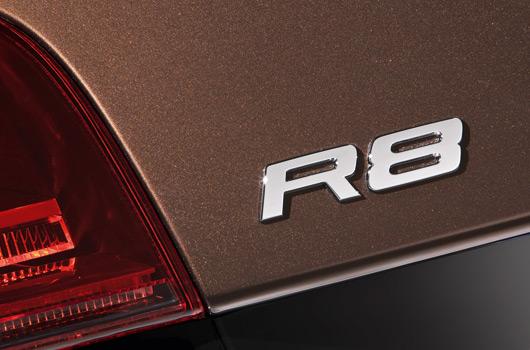R8 european rear closeup